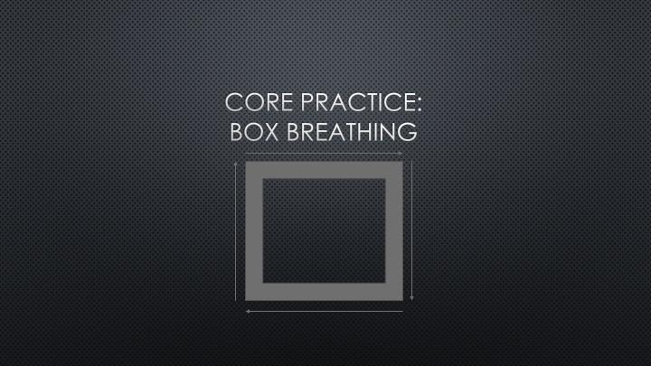 Box Breathing: Foundational Rhythm Practice